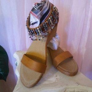 "New Sexy Boho Summer Sandals 3"" heel"